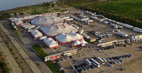 circo victor hugo cardinali natal drone 2016